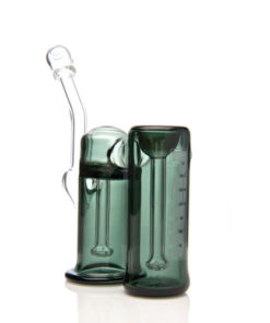 Purr Glass Full Size Double Bubbler