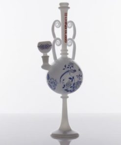 The China Glass Ming Dynasty Vase Water Pipe