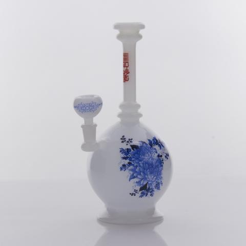 The China Glass Zhou Dynasty Vase Water Pipe