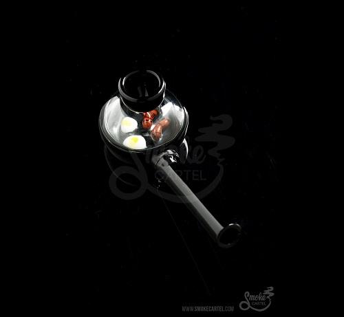 The Wake & Bake Frying Pan Glass Hand Pipe